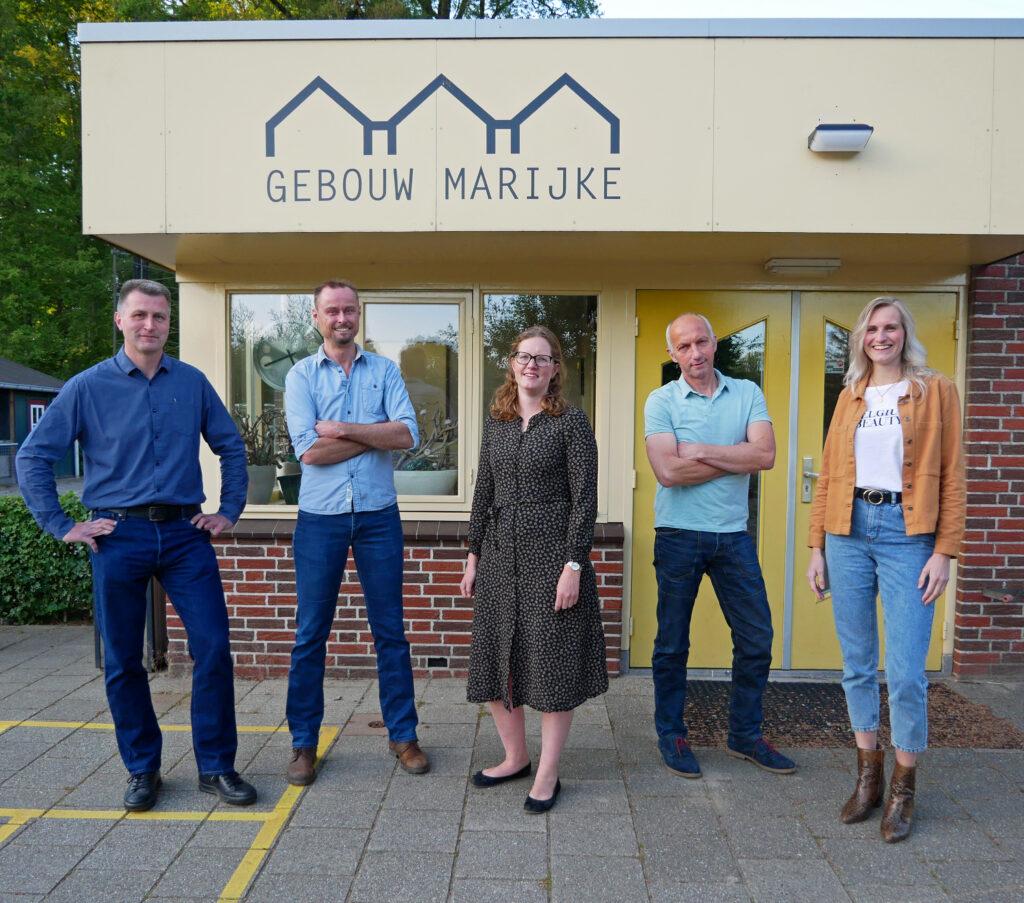 Bestuur Stichting gebouw Marijke